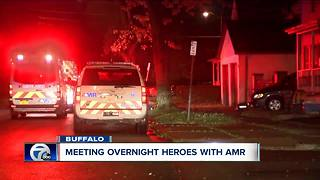 Overnight heroes: A night in the life of AMR crews - Video