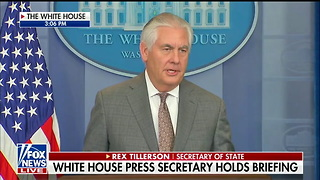 Tillerson Indicates North Korea Sanctions Are Working, Explains Terror Designation - Video