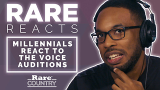 "Millennials React to ""The Voice"" Auditions 