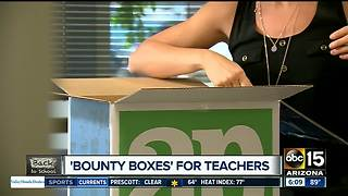 """Bounty boxes"" for teachers in the Valley"