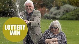 Retired couple plan on building dream home after scooping £5 million in Lottery - Video