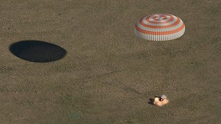 3 Astronauts Back On Earth After 5 Months In Space - Video