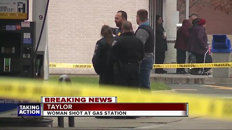 Altercation between two women leads to shooting at Taylor gas station
