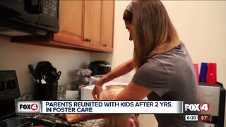 Parents reunited with kids after 2 years in foster care