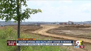 Amazon to add 1,000 jobs at Monroe location - Video