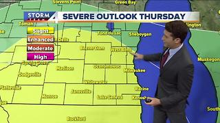 Josh Wurster's Wednesday 6pm Storm Team 4cast - Video
