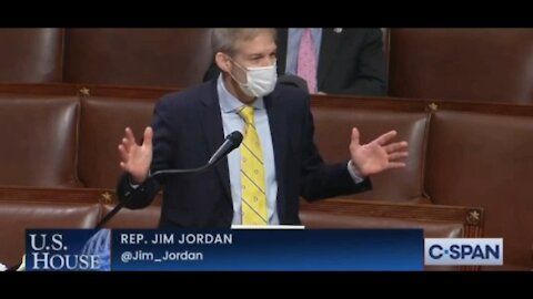 Jim Jordan goes off on the Swamp