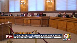 City council approves severance deal - Video