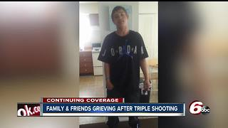Friends, family grieve after triple shooting on Indianapolis' southwest side - Video