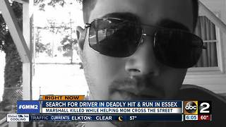 Essex man killed walking mother across street in hit-and-run - Video