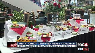 Heart-Check certified meals available - Video