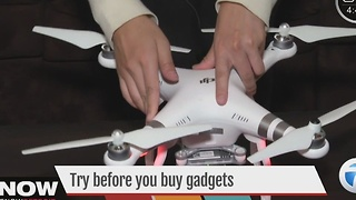 Try before you buy gadgets - Video