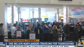 1 million Marylanders traveling for Thanksgiving