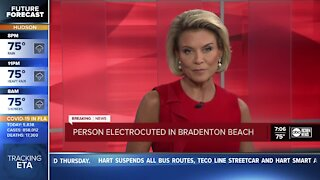 1 dead after electrocution inside Manatee County home during Tropical Storm Eta, officials say