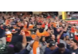 Astros Fans Go Wild for Franchise's First Ever World Series Win - Video