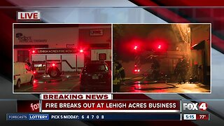 Fire breaks out at Lehigh Acres restaurant