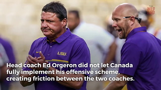 LSU Plans To Split With O.C. Matt Canada After Citrus Bowl - Video