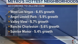 Top 5 neighborhoods in Las Vegas for home growth - Video