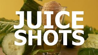 Veggie shots and fruity chasers: lettuce begin