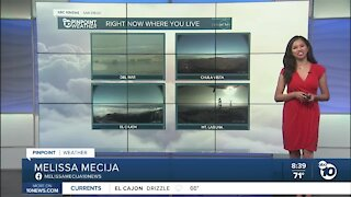 ABC 10News Pinpoint Weather for Sun. Sept. 20, 2020