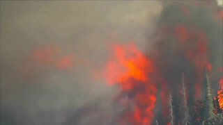 Fire officials issue emergency message for mandatory evacuations from Cameron Peak Fire