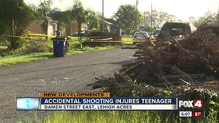 Investigation into accidental shooting under way in Lehigh Acres - Video