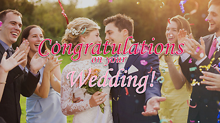 Wedding Greeting Card 4