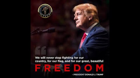 """🇺🇸TRUMP'S MESSAGE TO AMERICA """"NEVER GIVE UP""""🇺🇸"""