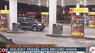 Thanksgiving travel hits record highs - Video
