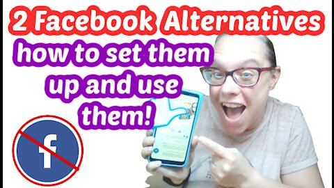 Two Alternatives to Facebook! How to Open a MeWe and Gracebook Account