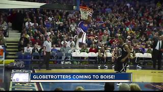 Harlem Globetrotters come to Boise - Video