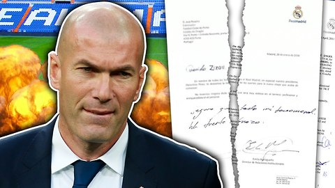 LEAKED: Real Madrid To SACK Zinedine Zidane At The End Of The Season?!   #VFN