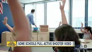 Active shooter training video raises concerns