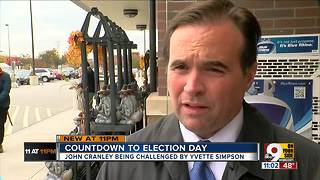 Cranley and Simpson race to the finish line - Video