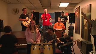 Special needs band produces music