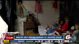 Morgan County Jail Correction Crew plays major role in county's haunted house - Video