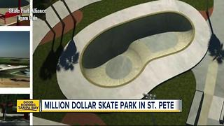 St. Petersburg breaking ground on $1.25 million skate park at Campbell Park near Tropicana Field - Video