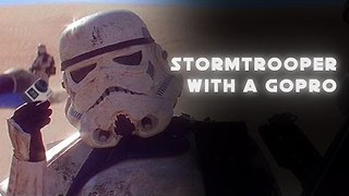 Stormtrooper Takes GoPro to Desert and Films His Duel - Video