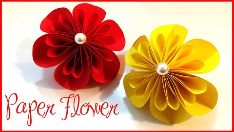 How to make a beautiful paper flower