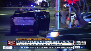 Man arrested for fatal shooting near Charleston, Decatur boulevards