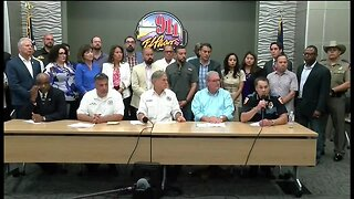 Texas officials hold Walmart shooting news conference