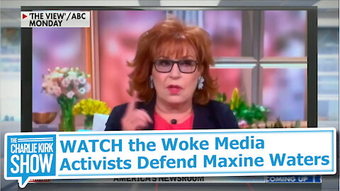 WATCH the Woke Media Activists Defend Maxine Waters
