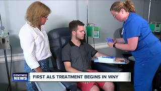 First ALS Treatment Begins in WNY - Video