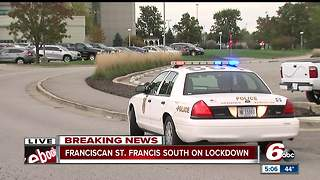 Lockdown at Franciscan Health South Hospital lifted - Video