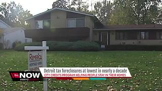 Detroit tax foreclosures at lowest level in nearly a decade - Video