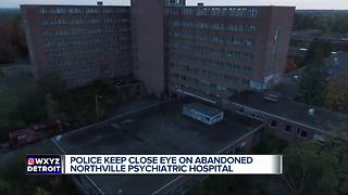 Police warn ghost hunters: Stay away from the Northville Psychiatric Hospital - Video