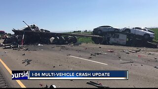 I-84 multi-vehicle crash update