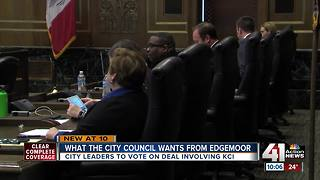 KC Council to vote on new Edgemoor agreement - Video