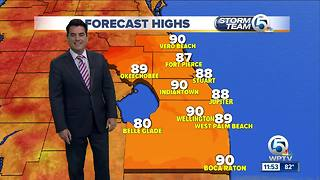 South Florida Tuesday afternoon forecast (7/10/18) - Video