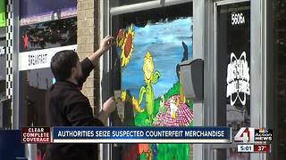 Authorities seize merchandise from Mission store - Video